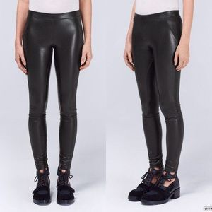 Wilfred Free Rebelle Faux Leather Legging Black S